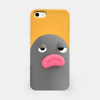Lars Irritated Orange iPhone Case thumbnail image