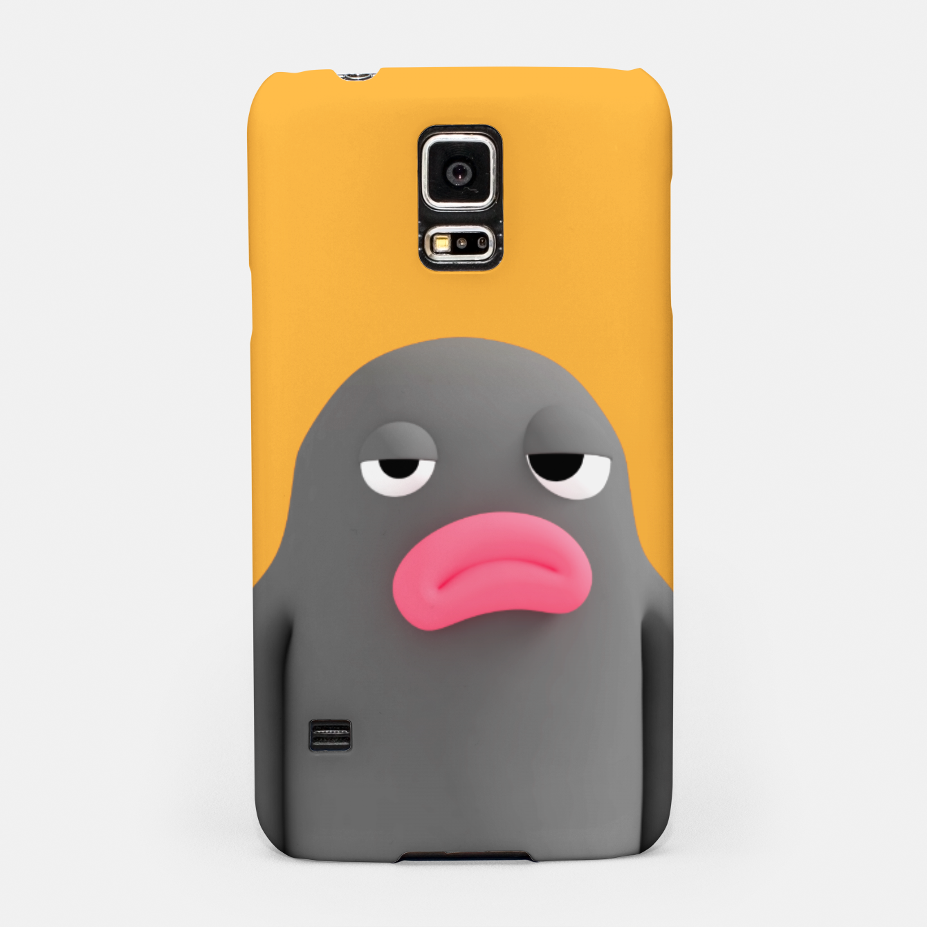 Image of Lars Irritated Orange Samsung Case - Live Heroes