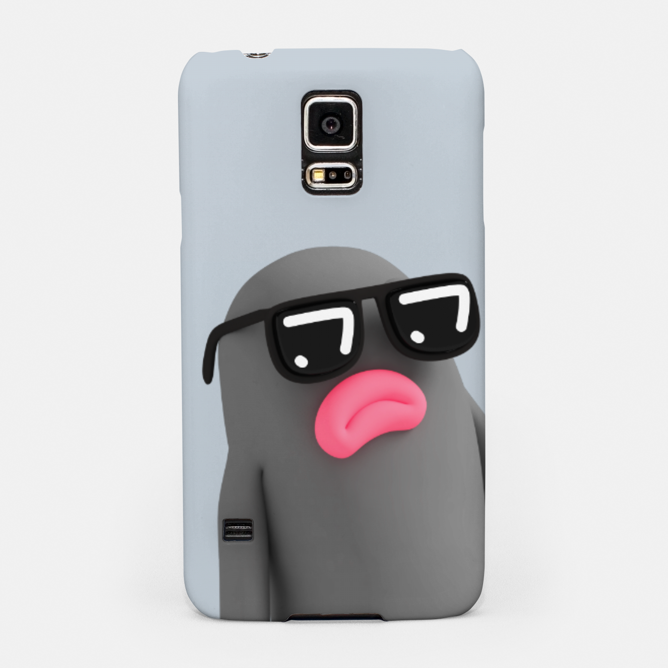 Image of Lars looking Cool Grey Samsung Case - Live Heroes