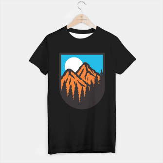 Miniatur Mountain T-shirt regular, Live Heroes