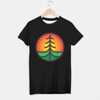 Thumbnail image of Tree and Sunset T-shirt regular, Live Heroes
