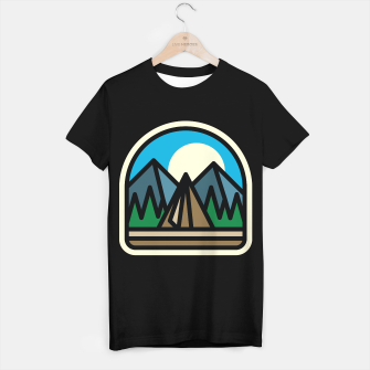 Miniatur Camp Bold T-shirt regular, Live Heroes