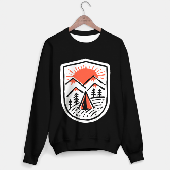 Miniatur Sunset Camp Hand Drawn Sweater regular, Live Heroes
