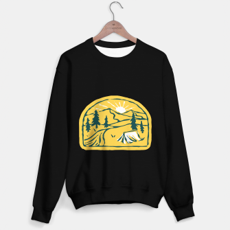 Miniatur Camp Hand Drawn Sweater regular, Live Heroes