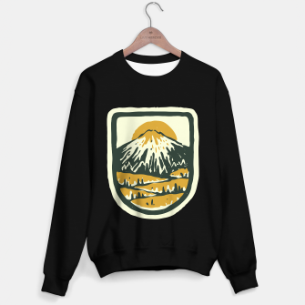 Miniatur Mountain Hand Drawn Sweater regular, Live Heroes
