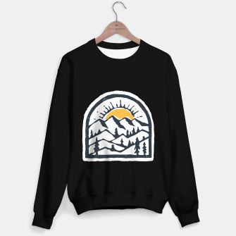 Miniatur Beauty Mountain Hand Drawn Sweater regular, Live Heroes