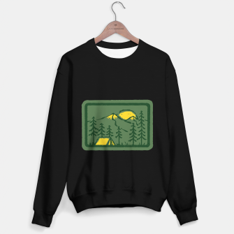 Miniatur Camping Sweater regular, Live Heroes