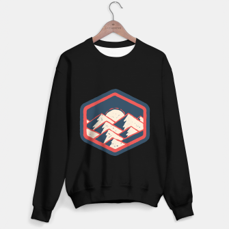 Miniatur Mountains Sweater regular, Live Heroes