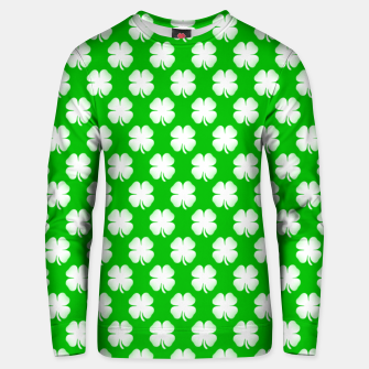 Thumbnail image of Clover Tiled Unisex sweater, Live Heroes