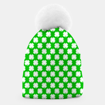 Thumbnail image of Clover Tiled Beanie, Live Heroes