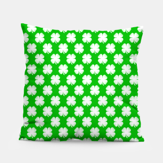 Thumbnail image of Clover Tiled Pillow, Live Heroes