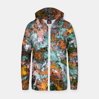 Thumbnail image of A storm brewing Zip up hoodie, Live Heroes