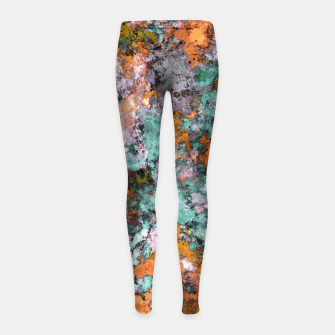 Thumbnail image of A storm brewing Girl's leggings, Live Heroes
