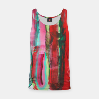 Thumbnail image of Fluids into red Tank Top, Live Heroes