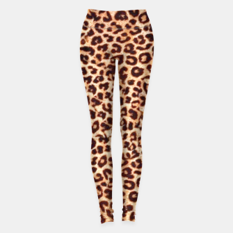 Thumbnail image of Women New Fashion Leopard Animal Print  Leggings, Live Heroes