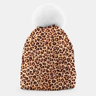 Thumbnail image of Women New Fashion Leopard Animal Print  Beanie, Live Heroes