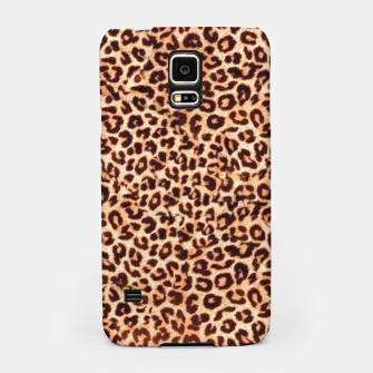 Thumbnail image of Women New Fashion Leopard Animal Print  Samsung Case, Live Heroes
