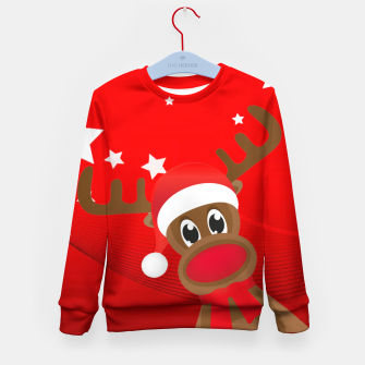 Thumbnail image of Rudy the Christmas Reindeer Kid's sweater, Live Heroes