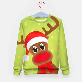 Thumbnail image of Rudy the Christmas Reindeer 2 Kid's sweater, Live Heroes