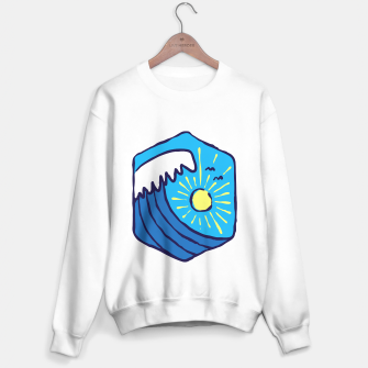 Thumbnail image of Great Wave Sweater regular, Live Heroes