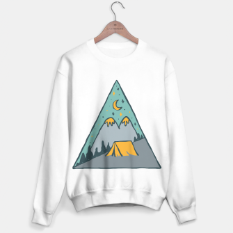 Miniatur Camp Triangle Sweater regular, Live Heroes