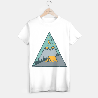 Miniatur Camp Triangle T-shirt regular, Live Heroes