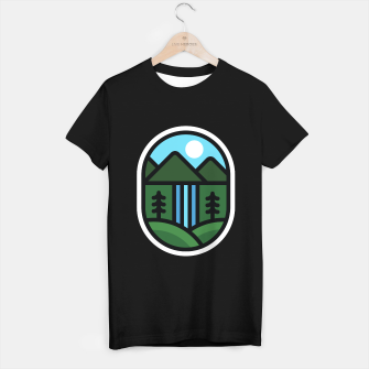Thumbnail image of Waterfall T-shirt regular, Live Heroes