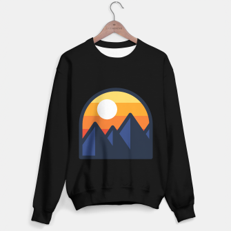 Miniature de image de Beauty Sunset Mountain Sweater regular, Live Heroes