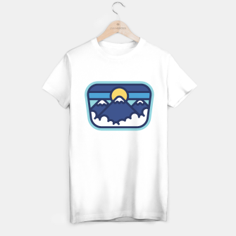Miniature de image de Moutain Line T-shirt regular, Live Heroes