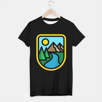 Thumbnail image of River Line T-shirt regular, Live Heroes