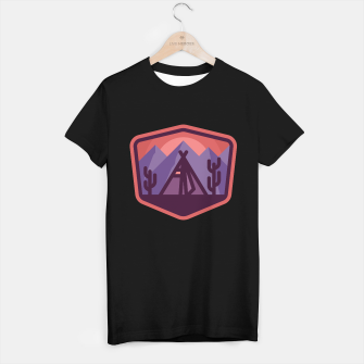 Miniatur Camp and Cactus T-shirt regular, Live Heroes