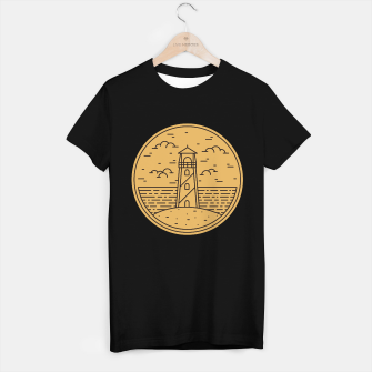 Miniatur Lighthouse T-shirt regular, Live Heroes