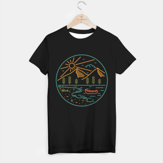 Miniatur Nature Lake T-shirt regular, Live Heroes