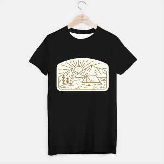 Miniature de image de Sunrise Camp T-shirt regular, Live Heroes
