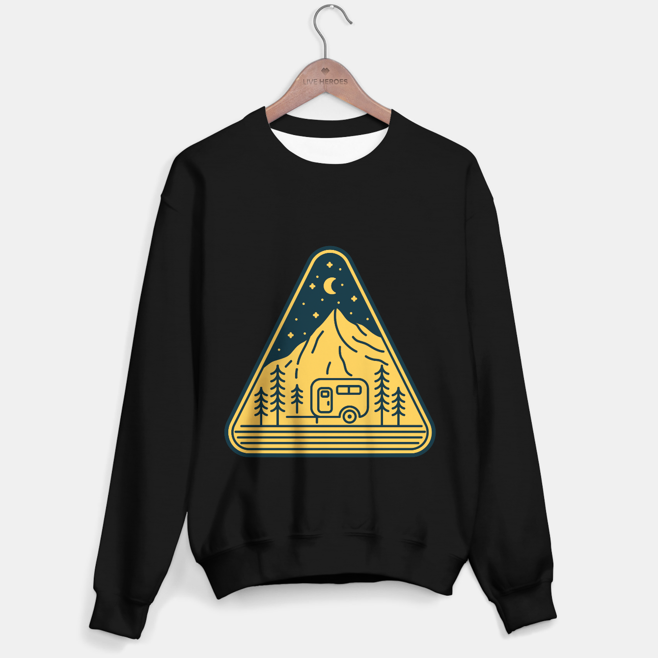 Image de Stay and Relax Sweater regular - Live Heroes