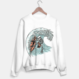Miniature de image de Death Surfer Sweater regular, Live Heroes