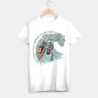 Thumbnail image of Death Surfer T-shirt regular, Live Heroes