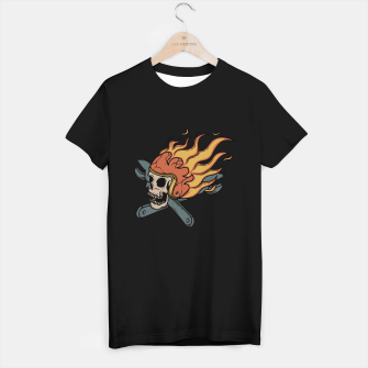 Miniature de image de Rider and Fire T-shirt regular, Live Heroes