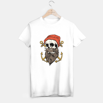 Miniatur Skull Anchor T-shirt regular, Live Heroes