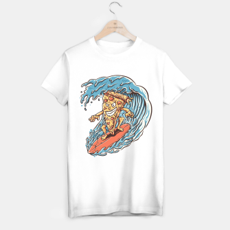 Miniatur Pizza Surfer T-shirt regular, Live Heroes