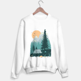 Miniatur Back to Nature Sweater regular, Live Heroes