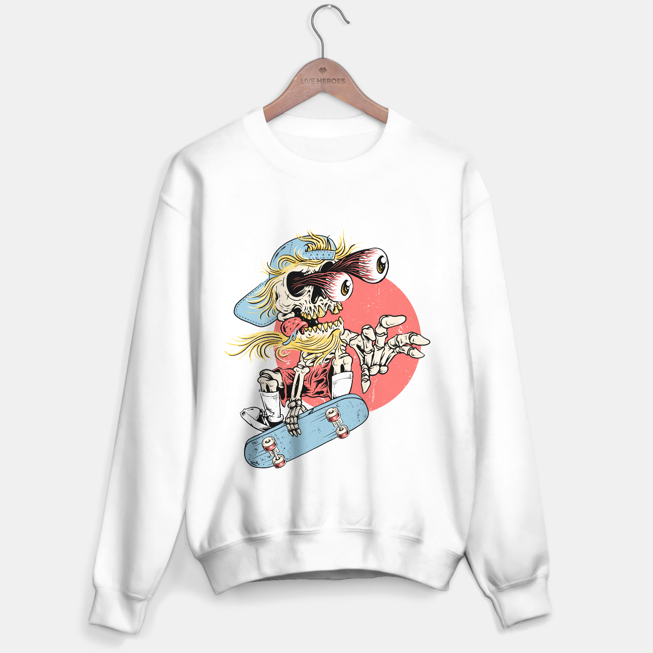 Image de Skateboarding Sweater regular - Live Heroes