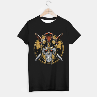 Thumbnail image of Skull Spartan T-shirt regular, Live Heroes