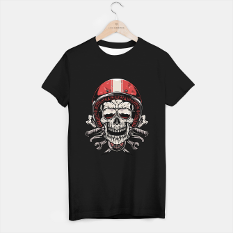 Thumbnail image of Skull Biker T-shirt regular, Live Heroes