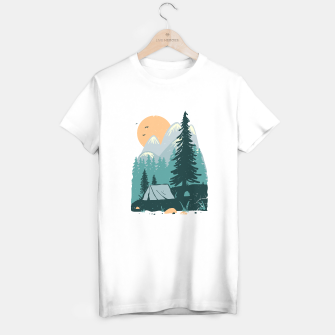Miniatur Back to Nature T-shirt regular, Live Heroes