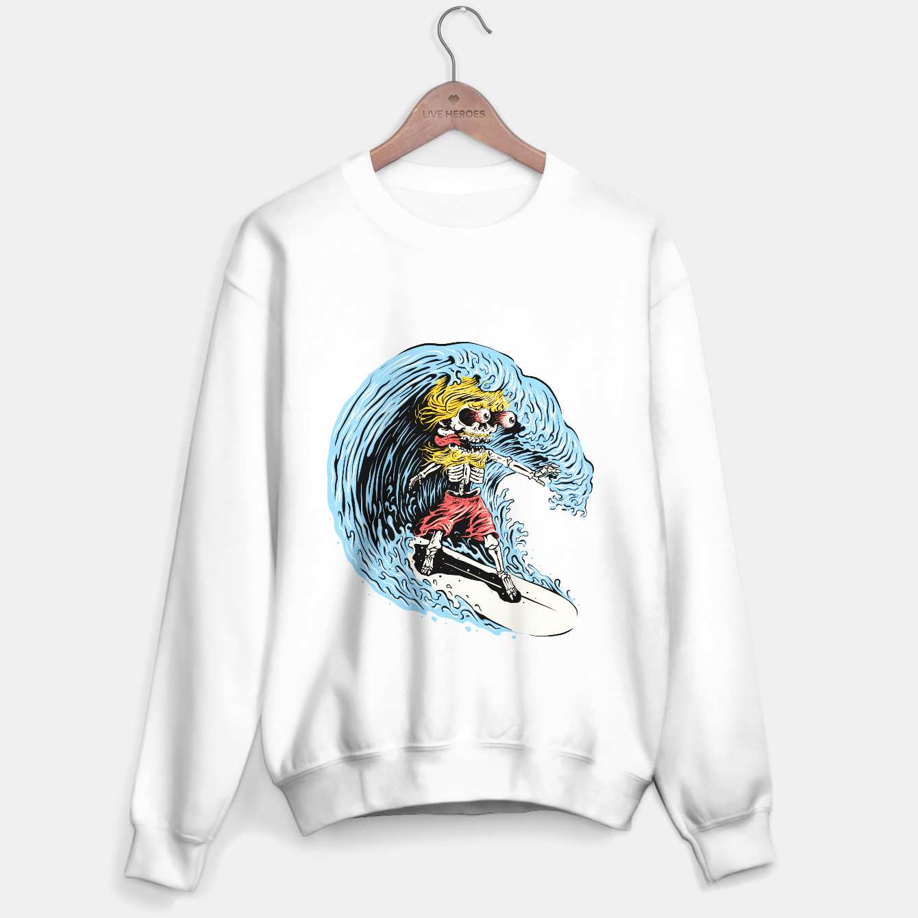 Foto Surfboarding Sweater regular - Live Heroes