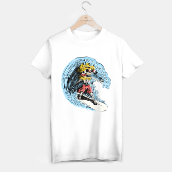 Surfboarding T-shirt regular Bild der Miniatur