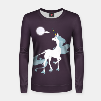 Thumbnail image of This is the last unicorn Women sweater, Live Heroes