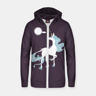 Thumbnail image of This is the last unicorn Zip up hoodie, Live Heroes
