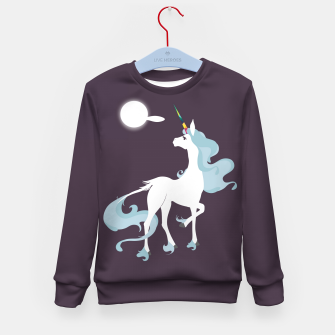 Thumbnail image of This is the last unicorn Kid's sweater, Live Heroes